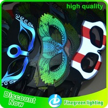 Party glow gift light up led light up party mask masquerade masks