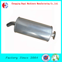 factory wholesale high performance auto oval adjustable exhaust pipe