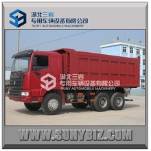 2015 hot sale SINOTRUK 6X4 375HP right hand drive , left hand drive 30 ton tipper truck