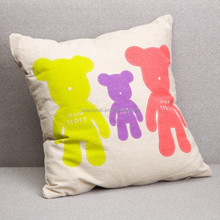 Lovely custom made OEM wholesale animal print outdoor cushions cover A032