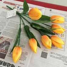 venta al por mayor de la pu decoración de holanda bulbos de tulipán con flor de bubs