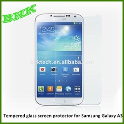 New hot products explosion proof Tempered glass screen protector for Samsung Galaxy A3