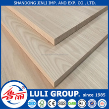4'*8' LULIGROUP AA grade rubber wood finger jointed laminate board for decoration