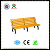 Durable Park wooden bench seat/outdoor park wood bench legs/cheap outdoor garden furniture/QX-143E