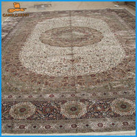 14x20 oversized persian design hand knotted nepalese carpets