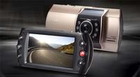 CE Certification 2.7 inch TFT double lens camera hd vehicle blackbox DVR