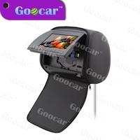 7 inch HD digital screen Universal Car Headrest DVD With Touch buttons USB/SD/MP5 port