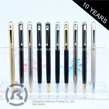 Free Samples Hot New Products Tailored Metal Roller Ball Pen
