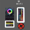 Hot sell mi light wireless led controller 2.4G RF wifi RGB LED Controller Led Dimmer &color chasing rgb led strip controller
