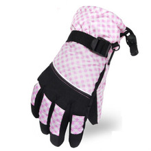 Kids Ski Glove Keep Warming Waterproof Outdoor Sports Ski Glove Manufacture