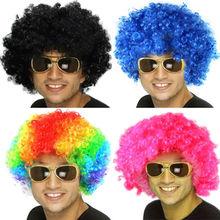 Carnival afro wigs/soccer fans wigs, Party Wigs