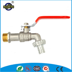 Risen long handle Nickel plating brass water tap