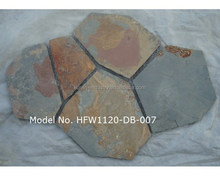 Natural Rusty Slate Mats Outdoor Paving Stone