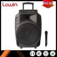 China Supplier multicolor light professional active speaker