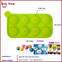 2015 New Silicone Bakeware High quality cake decoration Silicone Cake Pop Mold
