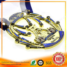 One Stop Supplier 2014 spartan race finisher medal manufacturer