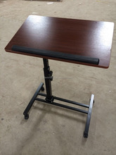 Adjustable stand up small free standing laptop desk(DW-222)