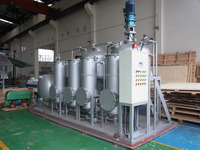 Waste Tire Pyrolysis Oil Refine/Oil Refining/Oil Refinery Machine to Get Diesel Fuel