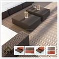 New design 100% reciclado piso de madeira bom preço wood plastic composite decks anti uv wpc decks