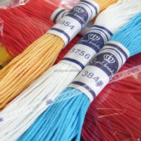 Embriodery Floss Cotton Embroidery Thread High Quality 100% Egyptian Cotton DMC Color 100pcs/bag
