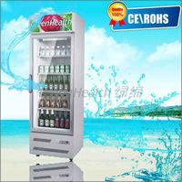 Upright Beverage Cooler Beer Showcase Single Door