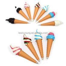 Factory supply gift ballpoint pen/cartoon ball pen/Advertising ice cream Pen