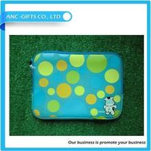 7''-17''logo print wholesale waterproof neoprene laptop sleeve with handle