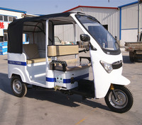 4-6 persons capacity 3 wheel tricycle; electric auto rickshaw