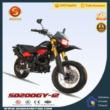 Classical 200CC Dirt Bike Motorcycle SD200GY-12