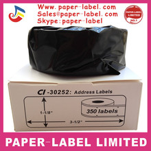 DYMO LABELS OVER STOCK GREAT DEAL COMPATIBLE WITH DYMO LABEL 30252