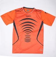 New design wholesale football shirt/classic football shirt/football shirt maker soccer jersey