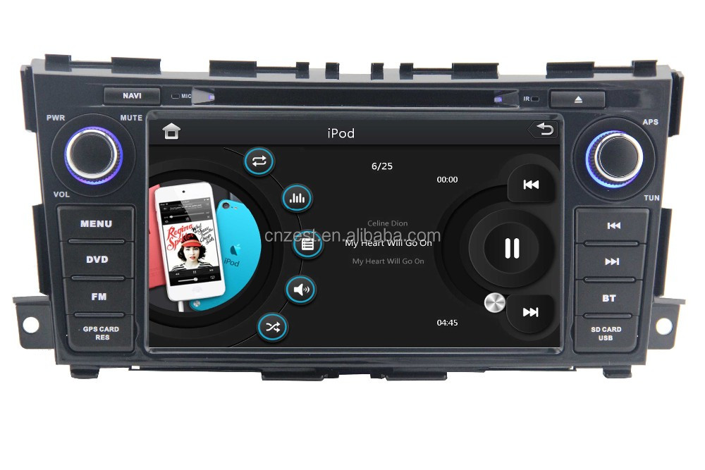 car dvd gps for nissan altima 2013 touch screen navigation with radio audio system buy for. Black Bedroom Furniture Sets. Home Design Ideas