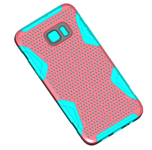 factory cellphone accessories super slim hybrid mesh combo case for samsung galaxy note 5