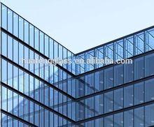 doppi vetri facciate di edifici in vetro pareti