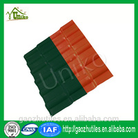 recyling Lasting color hot sale china new plastic roof tile