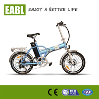 "Chinese Top e-cycle 20"" mini folding electric bicycle for sale"