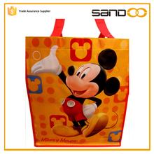 Sandoo Fashion Folding Cute Mickey Mouse Shopping Non Woven Bag