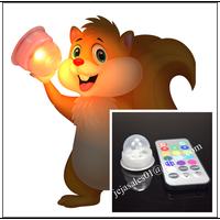 RGB led acorn lights led decorative lights, JEJA new patent item