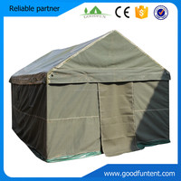 2015 used military tents Hot-sale Popular luxury safari tent for sale for sale
