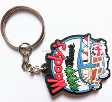 Hot new products 2015 Promotion gift 3D soft pvc rubber keychains