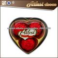 chocolate del compuesto de la forma del corazón