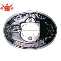 Promotional metal bottle opener belt buckles for gifts