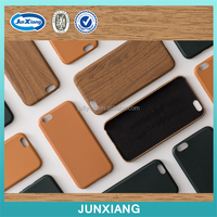wholesale China wooden grain soft tpu cover case for iphone 6 ultra slim pu leather case