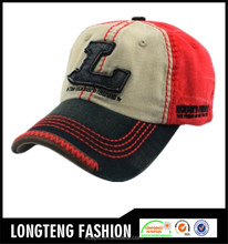 Wholesale multi color mens baseball cap hats