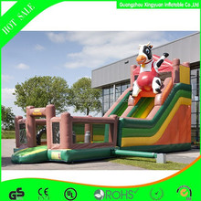 Inflatable cow character slide,inflatable cow character slide,inflatable cow character slide