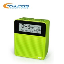 weather forecast, temperature and humidity DAB+/FM radio