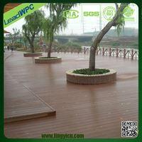 High grip (R11 rating) wpc decking surface source laminate flooring
