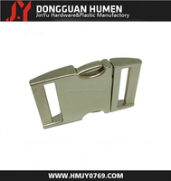 Jinyu high quality metal spring buckle/metal buckle clips/webbing buckle