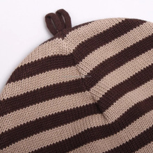 strip jacquard men patterns machine knitted hat