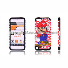 for Apple ipod touch 5 case gungzhou factory manufacture phone case